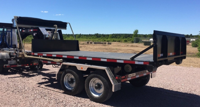 CL162GN14- Trailer 2 axles Goose Neck 16K Capacity - 14-foot