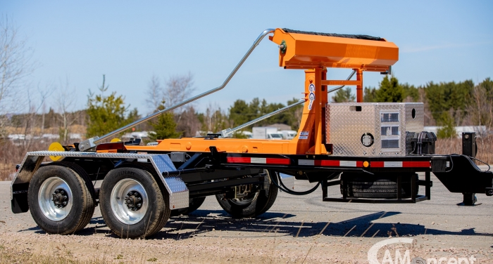 CL202PH10- Trailer 2 axles Bumper Pull 20K Capacity - for 10 to12 foot containers