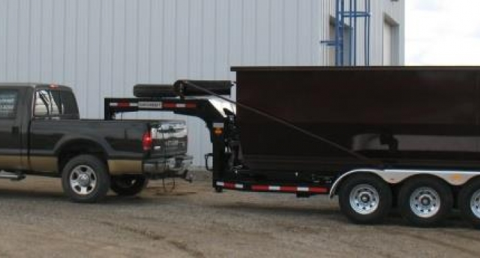 CL213GN16 - Trailer 3 axles Goose Neck TRI JIB - 21K Capacity - 16-foot