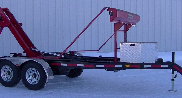 CL162PH12 - Trailer 2 axles Bumper Pull 16K Capacity - 12-foot