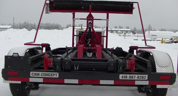 CL162PH16 - Trailer 2 axles Bumper Pull 16K Capacity - 16-foot